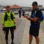 Alex and Rob in Aberystwyth